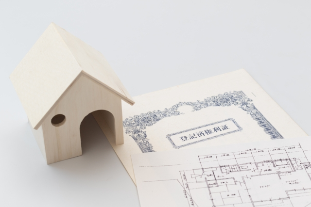 house-and-paper